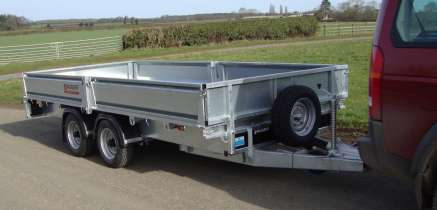 NUGENT 12ft FLAT BED TRAILER