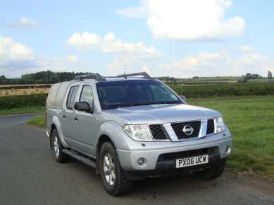NISSAN NAVARA OUTLAW  Dci DOUBLECAB PICKUP