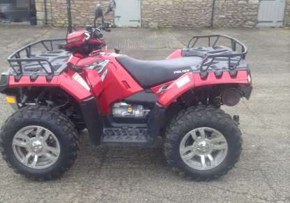 POLARIS 550 SPORTSMAN 4WD QUAD