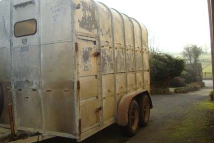 USED RICE TRAILER