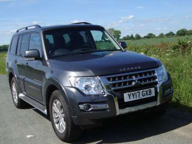 MITSUBISHI SHOGUN 3.2 DiD  AUTO 5 DOOR