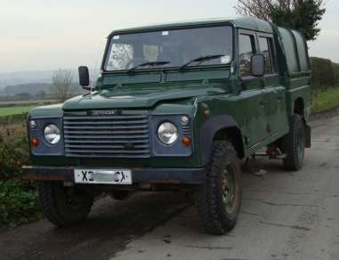 LANDROVER Td5 130 DOUBLECAB PICKUP