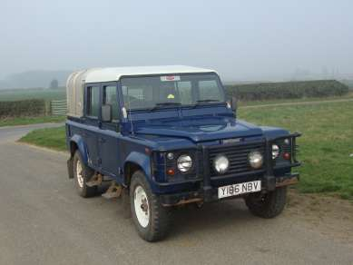 LANDROVER 110 TD5 DOUBLECAB