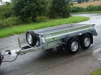 NEW GRAHAM EDWARDS 8ft GENERAL PURPOSE TRAILER