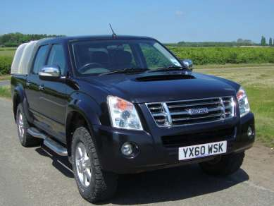 ISUZU RODEO 2.5 TD DENVER MAX DOUBLE CAB PICKUP