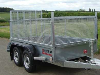 NEW NUGENT 8ft TWIN AXLE GENERAL PURPOSE TRAILER