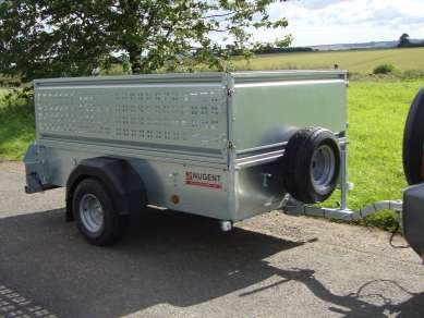 NEW NUGENT 7ft SINGLE AXLE UTILITY TRAILER