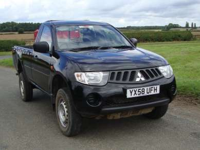 MITSUBISHI L200 2.5 DI-D 4X4 SINGLE CAB PICKUP