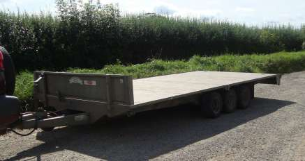 GRAHAM EDWARDS FB3516T FLAT BED TRAILER