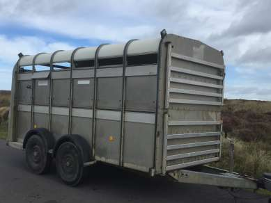 IFOR WILLIAMS 12 FT CATTLE TRAILER
