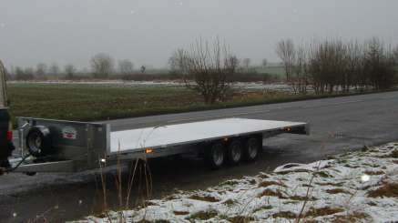 NEW GRAHAM EDWARDS 20FT X 6FT 6 FLAT BED TRAILER