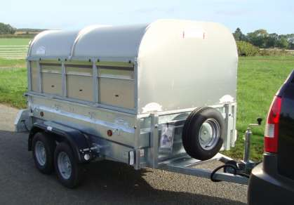 NEW GRAHAM EDWARDS 7FT GENERAL PURPOSE TRAILER