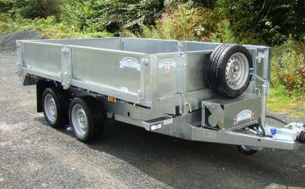 NEW GRAHAM EDWARDS 10ft TIPPER TRAILER