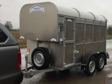 NEW GRAHAM EDWARDS 10ft CATTLE TRAILER