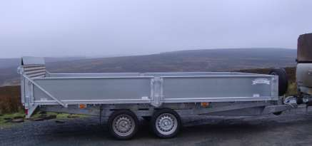 NEW GRAHAM EDWARDS 14ft TILT BED TRAILER