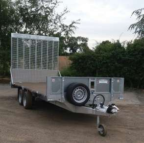 NEW GRAHAM EDWARDS 16ft FLAT BED TRAILER