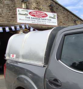 NEW GAMIC ALLOY CANOPY TO FIT NEW NISSAN NP300