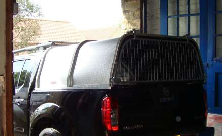 NEW CANOPY TO FIT NISSAN NAVARA D40 PICKUP