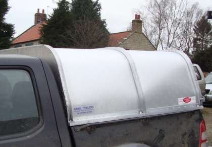 NEW GAMIC CANOPY TO FIT FORD RANGER