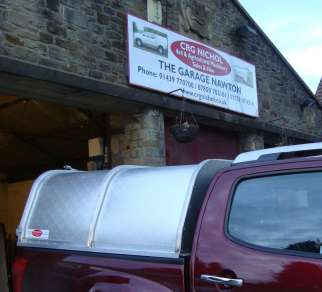 NEW GAMIC ALLOY CANOPY TO FIT NEW ISUZU D MAX