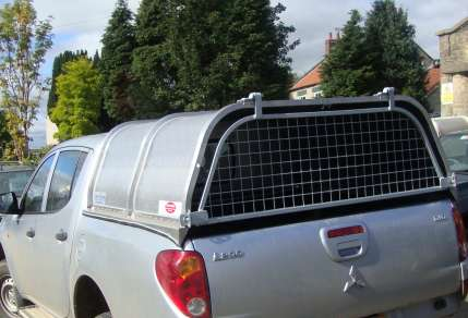 NEW GAMIC CANOPY TO FIT MITSUBISHI L200 DOUBLECCAB