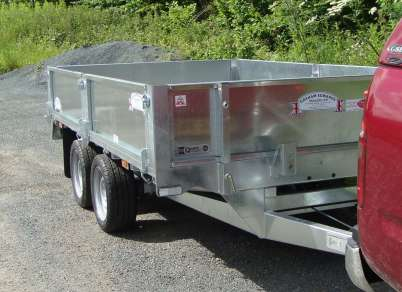 NEW GRAHAM EDWARDS 10 FT FLAT BED TRAILER