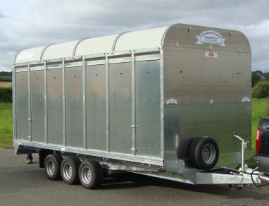 NEW GRAHAM EDWARDS CATTLE TRAILER