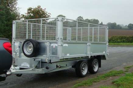 NEW GRAHAM EDWARDS TIPPING TRAILER