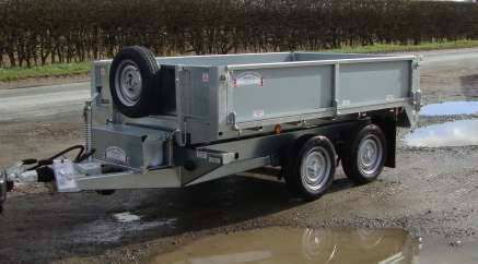NEW GRAHAM EDWARDS 8ft TIPPING TRAILER