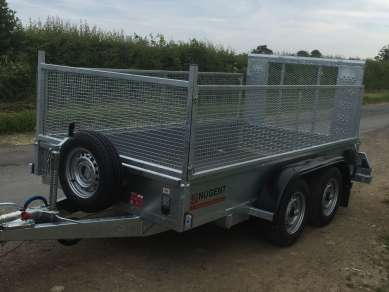 NUGENT 10ft TWIN AXLE TRAILER