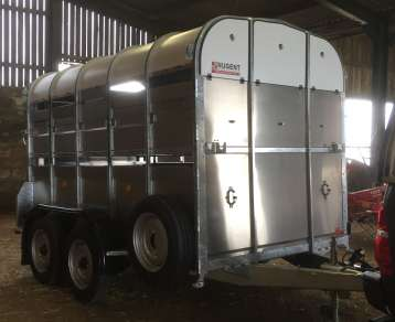 NUGENT 10ft CATTLE TRAILER