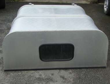 GAMIC ALLOY CANOPY TO FIT NISSAN D22 DOUBLECAB