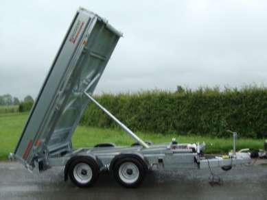 NEW NUGENT 10ft TWIN AXLE TIPPING TRAILER