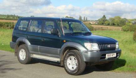TOYOTA LANDCRUISER 5 DOOR 8 SEATER AUTOMATIC