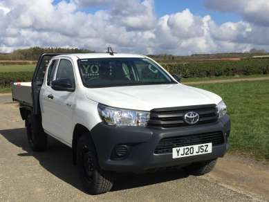 TOYOTA HILUX 2.4 D4d ACTIVE EXTRACAB PICKUP