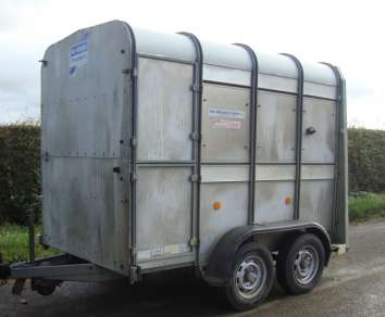 IFOR WILLIAMS 8ft CATTLE TRAILER