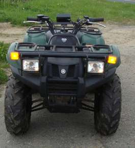 YAMAHA 450 GRIZZLY 4WD QUAD